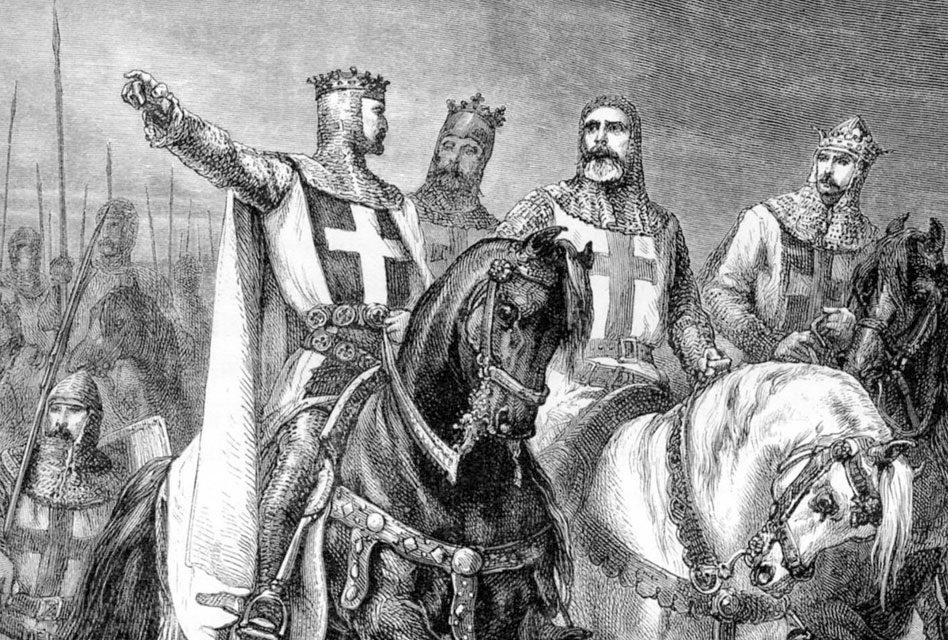 As cruzadas foram as mais célebres expedições guerreiras da idade média