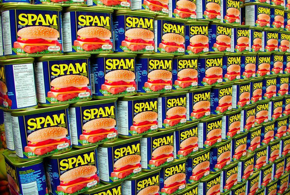 """Qual a origem da palavra """"SPAM""""?"""