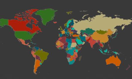 Mapa interativo reúne as línguas do mundo e permite que você ouça até sotaques regionais