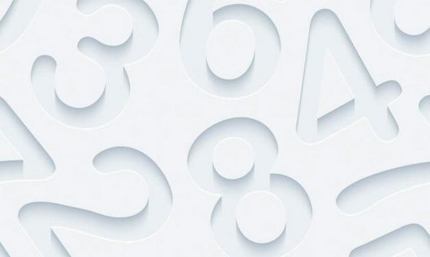 Por que o número 1 tem esse formato e 2 , 3 ,4 ,5 ,6 , 7, 8 e 9?
