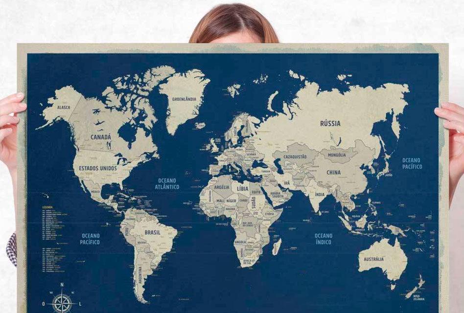 Esperanto: Nomoj de landoj (Nome dos Países)